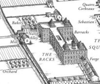 Map of the Saillie